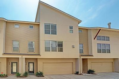 Houston Condo/Townhouse For Sale: 5218 Petty Street #B