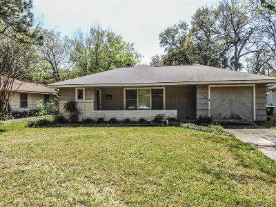 Houston Single Family Home For Sale: 3305 Rochdale Street