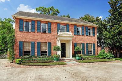 Houston TX Single Family Home For Sale: $1,499,000