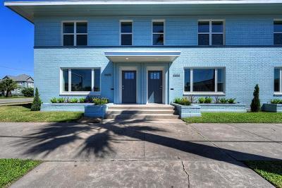 Galveston Condo/Townhouse For Sale: 1810 Rosenberg #1810