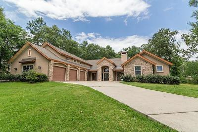 Montgomery Single Family Home For Sale: 11345 Lake Oak Drive