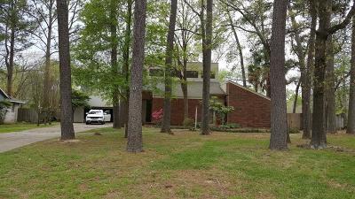 Kingwood TX Single Family Home For Sale: $230,000