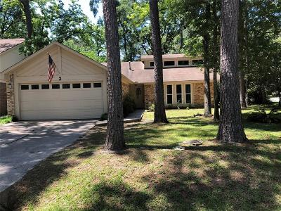 The Woodlands Single Family Home For Sale: 2 Pinewood Forest Court