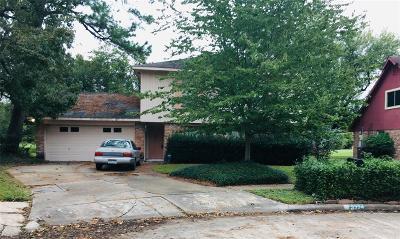 Houston TX Single Family Home For Sale: $93,500