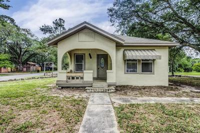 Liberty Single Family Home For Sale: 1616 N Travis Street