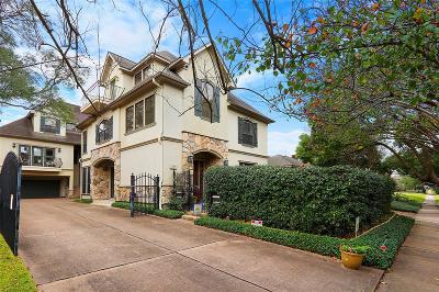 Houston Single Family Home For Sale: 1809 Harold Street