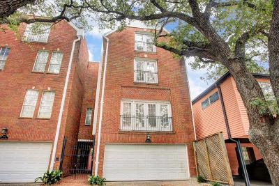 Montrose Condo/Townhouse For Sale: 804 Marshall Street