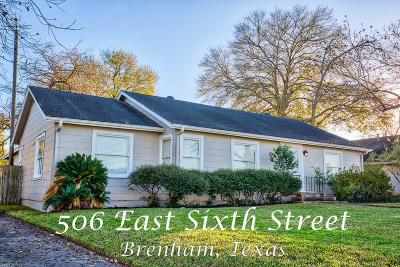Washington County Single Family Home For Sale: 506 E Sixth Street