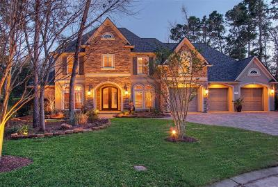 The Woodlands Single Family Home For Sale: 3 Snow Pond Place