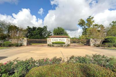 Montgomery Residential Lots & Land For Sale: 26103 Crown Ranch Boulevard