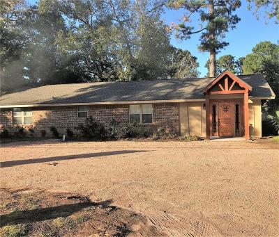 Conroe, Houston, Montgomery, Pearland, Spring, The Woodlands, Willis Single Family Home For Sale: 10332 Fm 1097 Road W