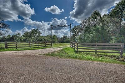 La Grange Farm & Ranch For Sale: 2737 Valenta Road