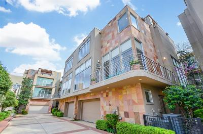 Houston Condo/Townhouse For Sale: 4419 Mandell Street