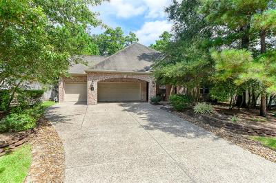 The Woodlands TX Single Family Home For Sale: $549,500