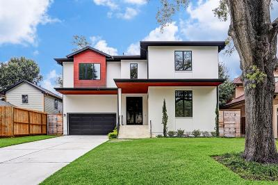 Bellaire Single Family Home Option Pending: 4620 Valerie Street