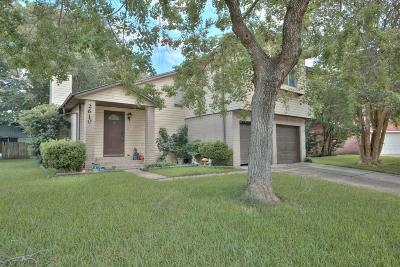 Pearland Single Family Home For Sale: 2610 S Belgravia Drive