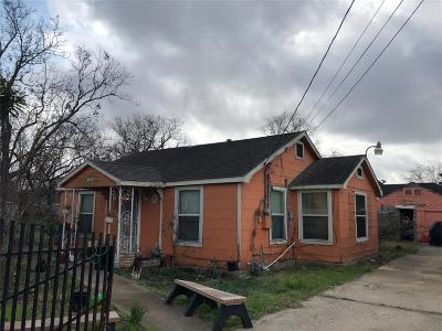Houston Single Family Home For Sale: 9240 E Avenue P