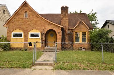 Houston Single Family Home For Sale: 2712 Arbor Street