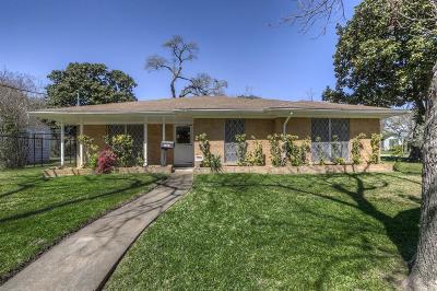 Houston Single Family Home For Sale: 1015 Eleanor Street