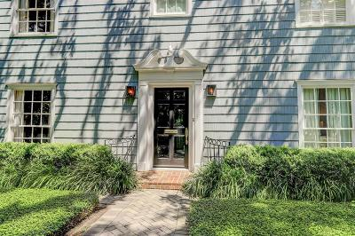 River Oaks Single Family Home For Sale: 2411 Stanmore Drive