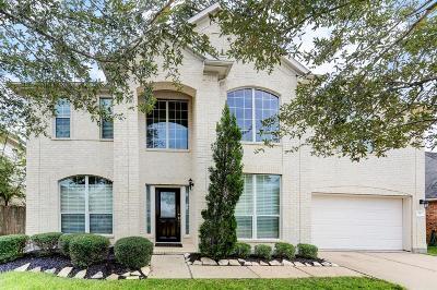 Manvel Single Family Home For Sale: 10 Atascadero Drive