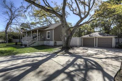 Seabrook Single Family Home For Sale: 1017 E Meyer Road