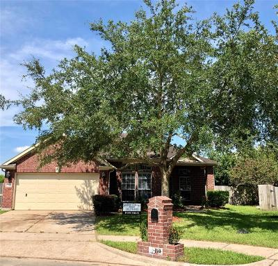 Galveston County Single Family Home For Sale: 718 Chase Point Circle