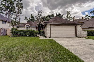 Spring Single Family Home For Sale: 2406 Shady Bayou Lane