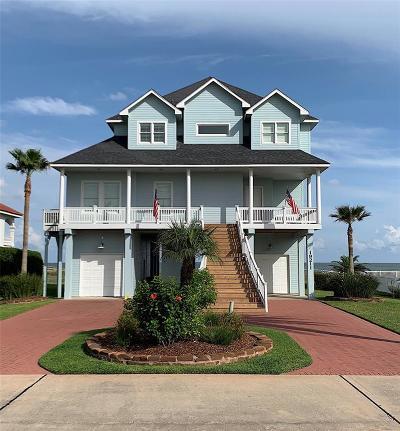 Galveston Single Family Home For Sale: 19211 Shores Drive