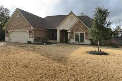 Madison County, Brazos County Single Family Home For Sale: 4651 River Rock Drive