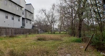 Houston Residential Lots & Land For Sale: 5011 Darling Street