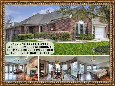 Humble Single Family Home For Sale: 14810 Meridian Park Lane