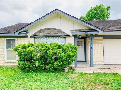 Houston TX Single Family Home For Sale: $174,995