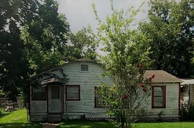 Bay City TX Single Family Home For Sale: $30,000