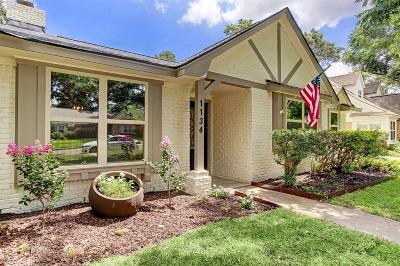 Houston TX Single Family Home For Sale: $598,000