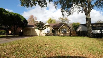 Houston TX Single Family Home For Sale: $98,000
