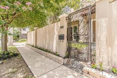Houston Condo/Townhouse For Sale: 1635 Hazel Street