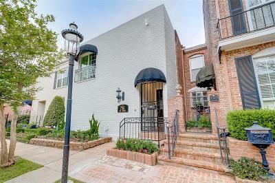 Houston Condo/Townhouse For Sale: 7511 Del Monte Drive