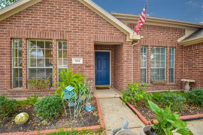 Katy Single Family Home For Sale: 1414 Three Forks Drive