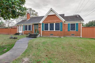 Houston Single Family Home For Sale: 500 Fairbanks Street