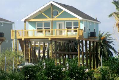 Crystal Beach Single Family Home For Sale: 959 Jacks