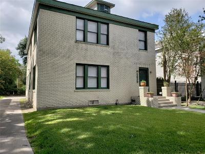 Harris County Rental For Rent: 1639 Norfolk Street #1