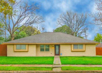 Houston Single Family Home For Sale: 7518 E Carew Street W