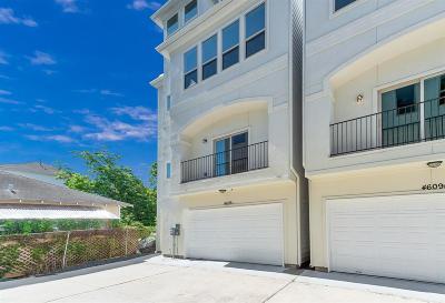 Houston Single Family Home For Sale: 4609 Nett Street #A