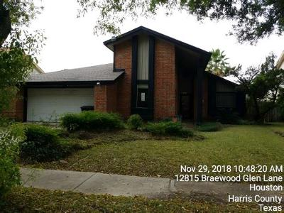 Houston Single Family Home For Sale: 12819 Corona Lane
