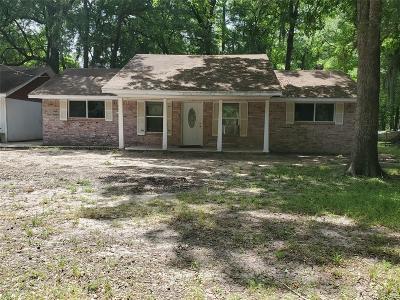 San Jacinto County Single Family Home For Sale: 1220 Martinez Street