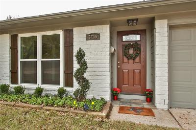 Houston Single Family Home For Sale: 2719 Lazy Spring Drive