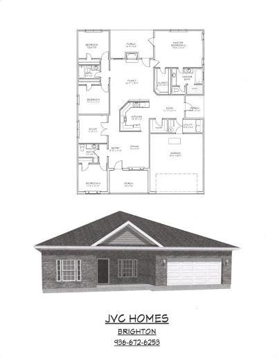 Willis Single Family Home For Sale: 14034 Carmel Dr