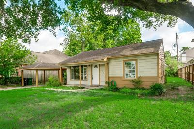 Houston Single Family Home For Sale: 6602 Rolla Street