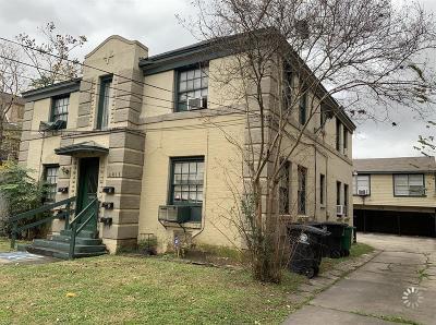 Houston Multi Family Home For Sale: 4811 Chenevert St Street #5